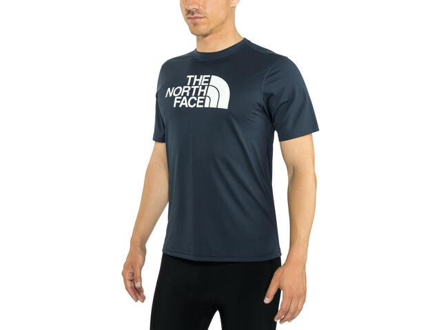 The North Face Train N Logo Flex T-shirt Heren, urban navy